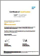 SAP S/4HANA certifikáció