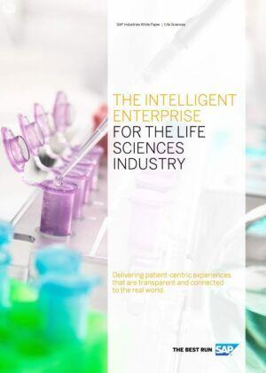 """Broszura SAP """"Inteligentne przedsiębiorstwo dla branży Life Science"""""""