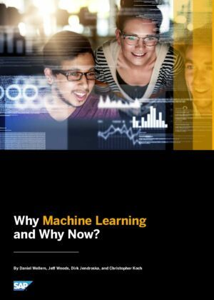 Why Machine Learning and Why Now?