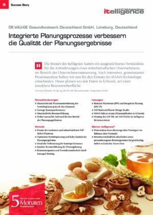 Success Story | DE-VAU-GE Gesundkostwerk Deutschland GmbH