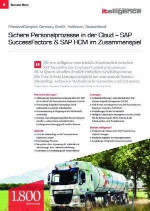 Success Story   FrieslandCampina Germany GmbH
