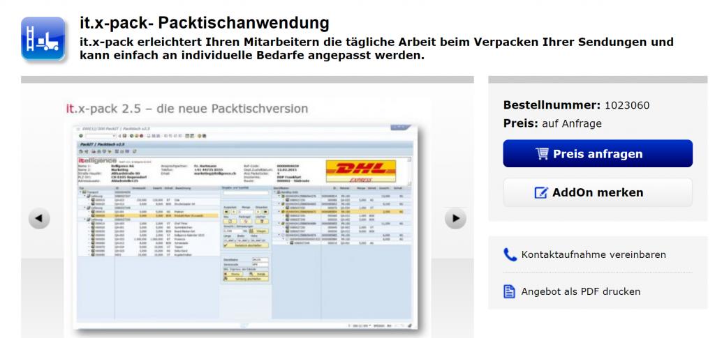 Sap Versandsoftware Für Kep Dienstleister Speditionen