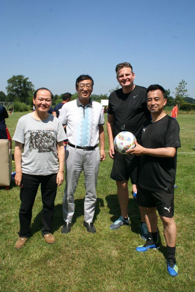 From left to right: Ken Tsuchihashi, Kaz Nishihata, Dieter Schoon, Manabu Tanaka