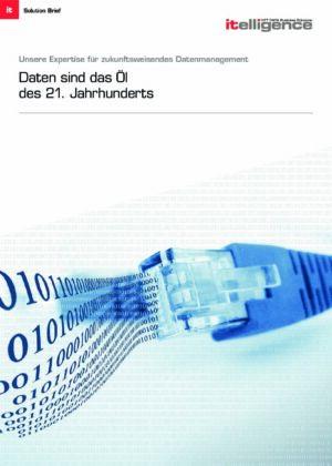Broschüre - Unsere Expertise für zukunftsweisendes Datenmanagement