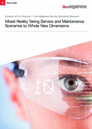 Learn about NTT DATA Business Solutions's innovative service applications that combine hybrid reality with SAP cloud platform for optimized service and maintenance processes.