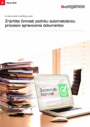 Ešte stále robíte schvaľovacie procesy dokumentov manuálne?