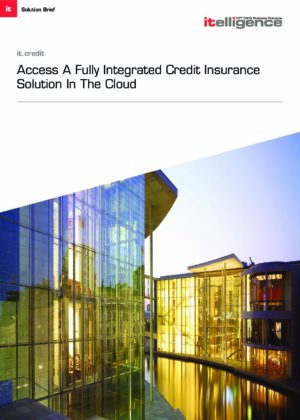 Access A Fully Integrated Credit Insurance Solution In The Cloud