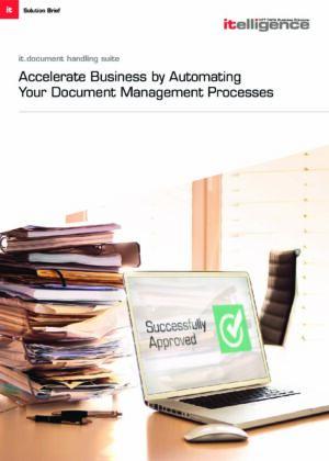 ¿Todavía maneja manualmente los procesos de aprobación de documentos?