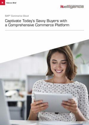 Solution Brief:  SAP Commerce Cloud.