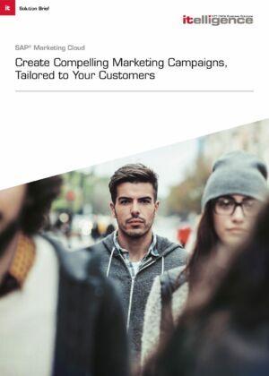 Solution Brief: SAP Marketing Cloud.
