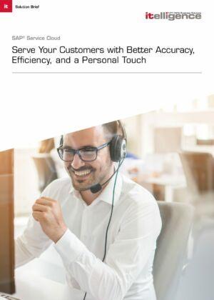 Solution Brief:  SAP Service Cloud.