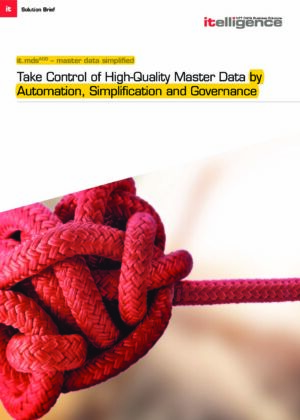 Get Your Master Data Under Control – Fast & Easy with Our it.MDS Solution