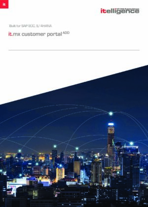 Securely extend the power of SAP to drive your online customer facing strategy