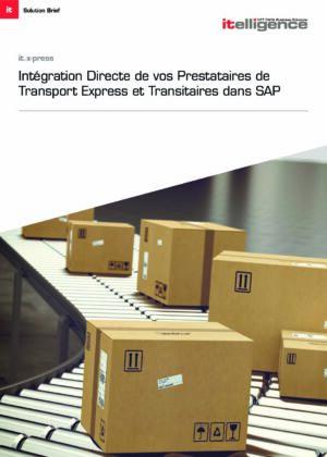 Interaction de vos Prestataires de Transport Express et Transitaires dans SAP