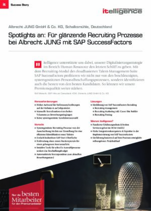 Success Story - Albrecht JUNG GmbH & Co. KG