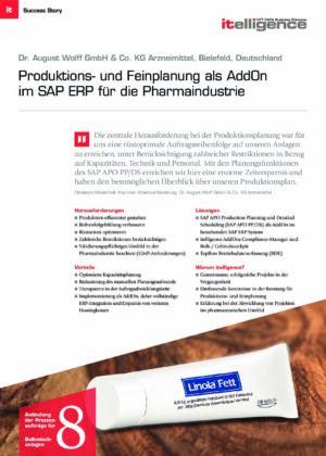 Success Story   Dr. August Wolff GmbH & Co. KG Arzneimittel