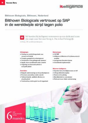 Biologicals vertrouwt op SAP in de wereldwijde strijd tegen polio