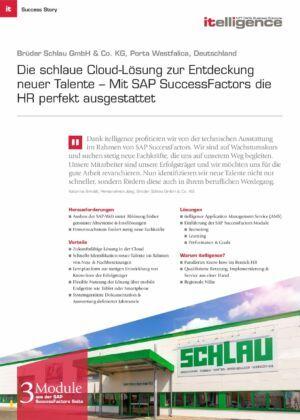 Success Story - Brüder Schlau GmbH & Co. KG