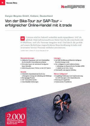 Success Story   Canyon Bicycles GmbH