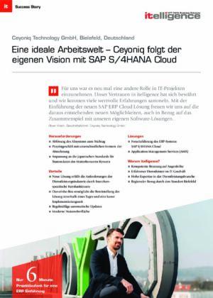 Success Story - Ceyoniq Technology GmbH
