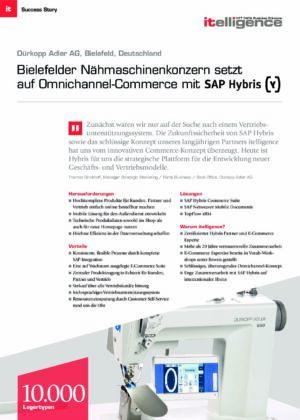 Success Story   Duerkopp Adler AG