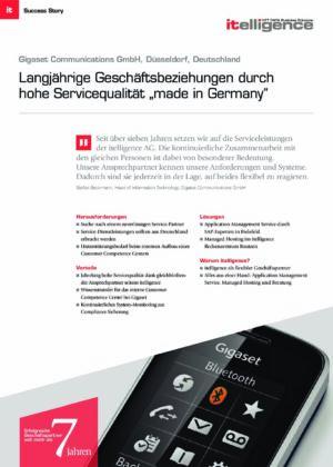 Success Story | Gigaset Communications