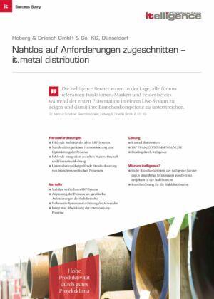 Success Story |Hoberg & Driesch GmbH & Co. KG