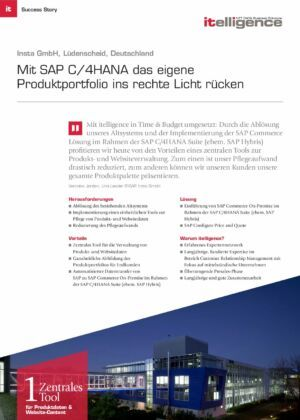 Success Story - Insta GmbH