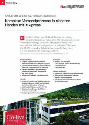 Success Story - KARL STORZ SE & Co. KG