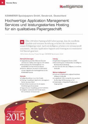 Success Story - Kämmerer Spezialpapiere GmbH - AMS