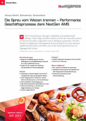 Success Story - Kamps GmbH
