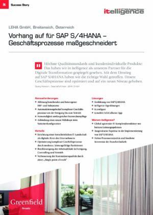 Success Story - LEHA GmbH