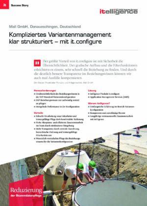Success Story - Mall GmbH