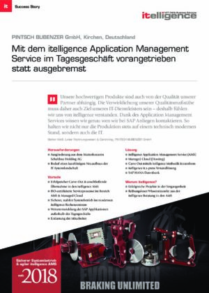 Success Story - PINTSCH BUBENZER GmbH