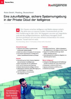 Success Story - RUBIX GmbH