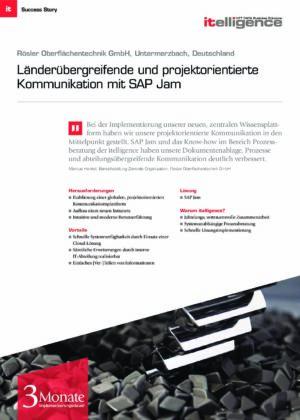 Success Story | Rösler Oberflächentechnik GmbH