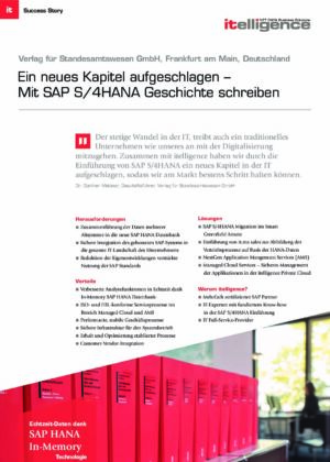 Success Story - Verlag für Standesamtwesen
