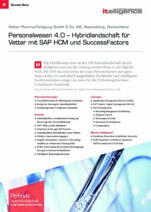 Success Story - Vetter Pharma-Fertigung GmbH & Co. KG