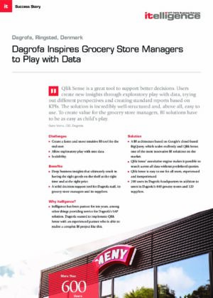 Dagrofa Inspires Grocery Store Managers to Play with Data