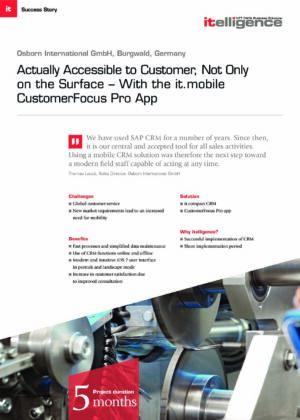 Success Story | Osborn International GmbH