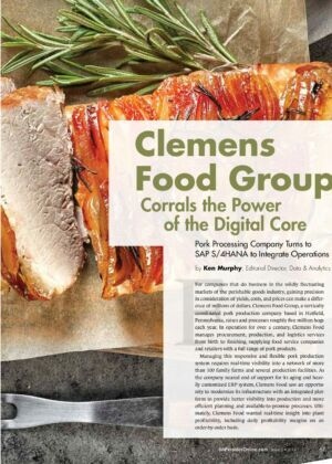 Success Story itelligence Clemens Food Group