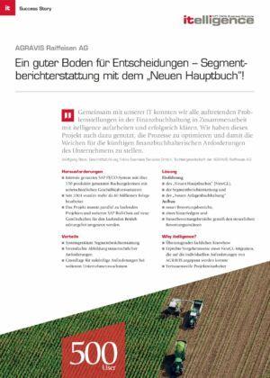 Success Story | AGRAVIS Raiffeisen AG