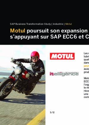 SUCCESS STORY : itelligence & Motul