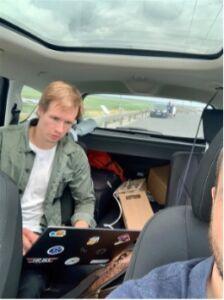 Sesnsor Testing on Rømø