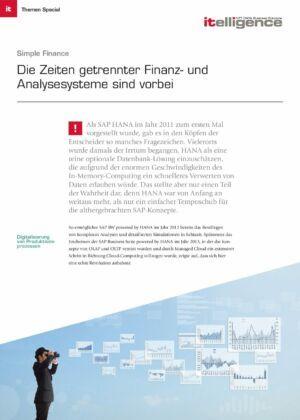 Themenspecial - SAP S/4HANA Finance