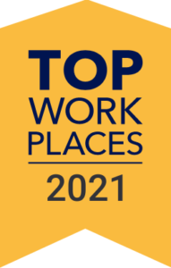 NTT DATA Business Solutions Top Workplaces 2021