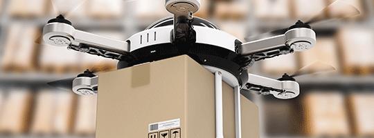 Image Drohne Fahrerlose Transportsysteme