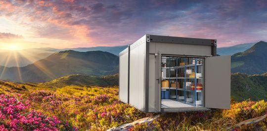 Denios AG - intelligentes Gefahrstofflager