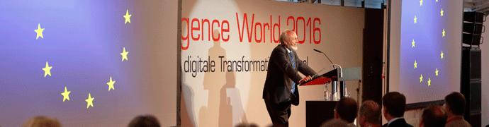 Image Vortrag Hans Werner Sinn auf der itelligence World 2016