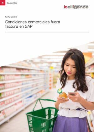 Condiciones Comerciales Fuera Factura en SAP